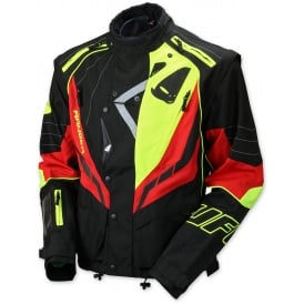 2017 UFO RANGER MX / ENDURO JACKET - RED BLACK YELLOW