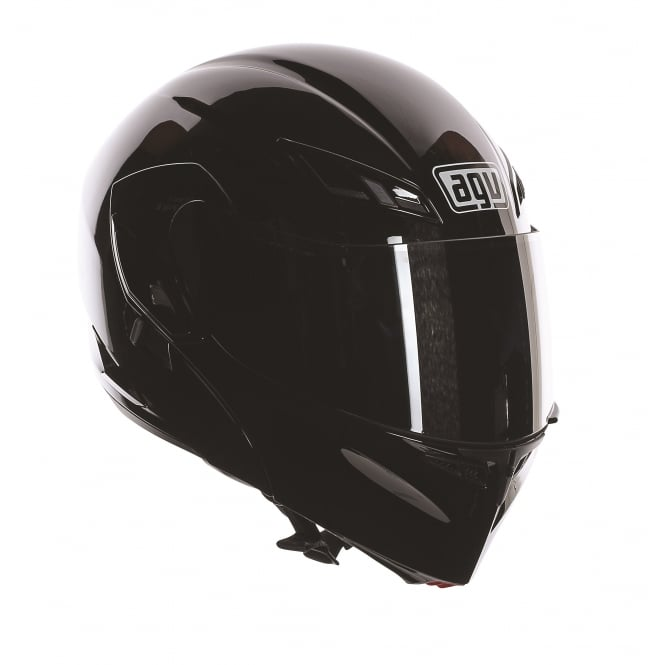 AGV COMPACT SOLID/PLAIN GLOSS BLACK
