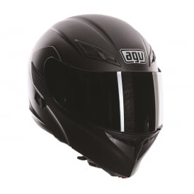 AGV COMPACT SOLID/PLAIN MATT BLACK