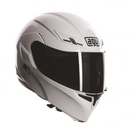 AGV COMPACT SOLID/PLAIN WHITE