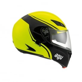 AGV COMPACT-ST COURSE YEL/BLK