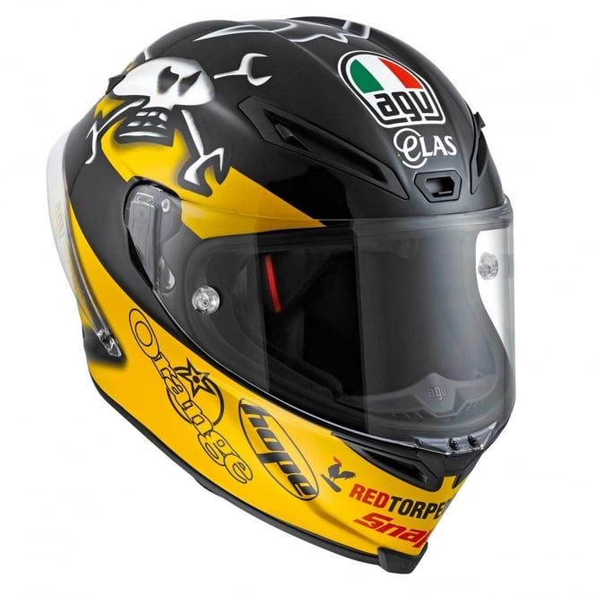 AGV CORSA-R GUY MARTIN Yellow