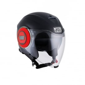 AGV FLUID MATTE BLACK