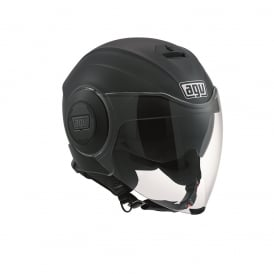 AGV FLUID SOLID MATTE BLACK