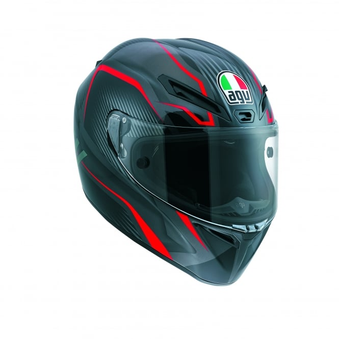 AGV GT VELOCE TXT RED
