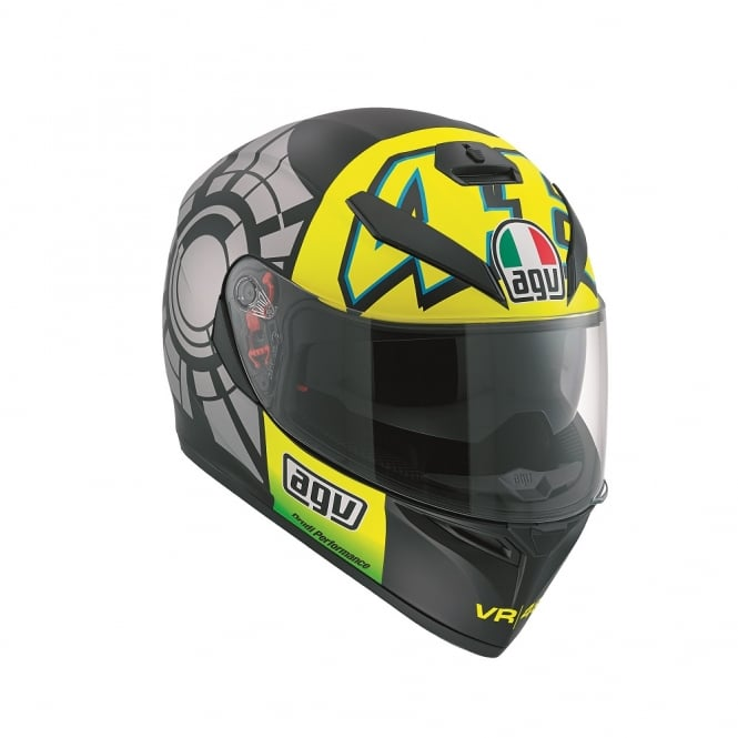 AGV K3 SV WINTER TEST BLK