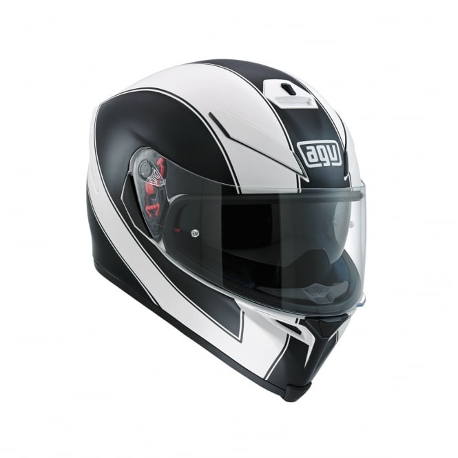 AGV K5-S ENLACE WHITE / MATTE BLACK