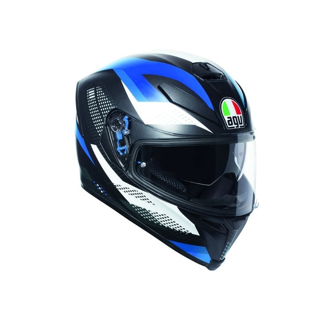 AGV K5-S Marble Black/White/Blue