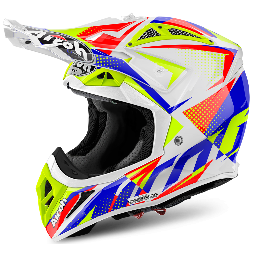 airoh aviator 2 2 flash white motorcycle helmets from custom lids uk. Black Bedroom Furniture Sets. Home Design Ideas