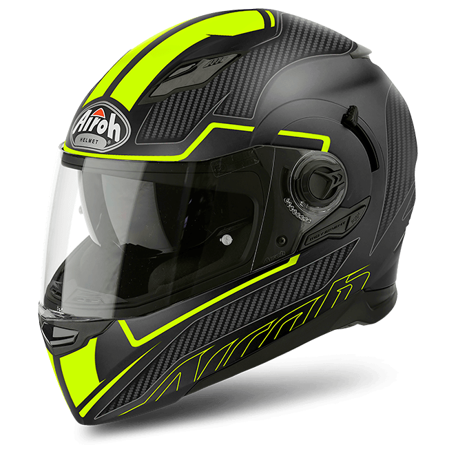 Airoh Movement S Helmet Faster Yellow Matt