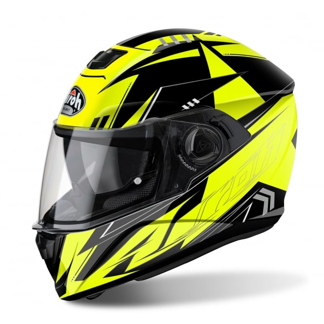 Airoh Storm Helmet Battle Yellow