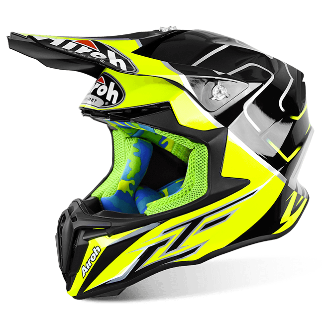 Airoh TWIST CAIROLI MANTOVA YELLOW