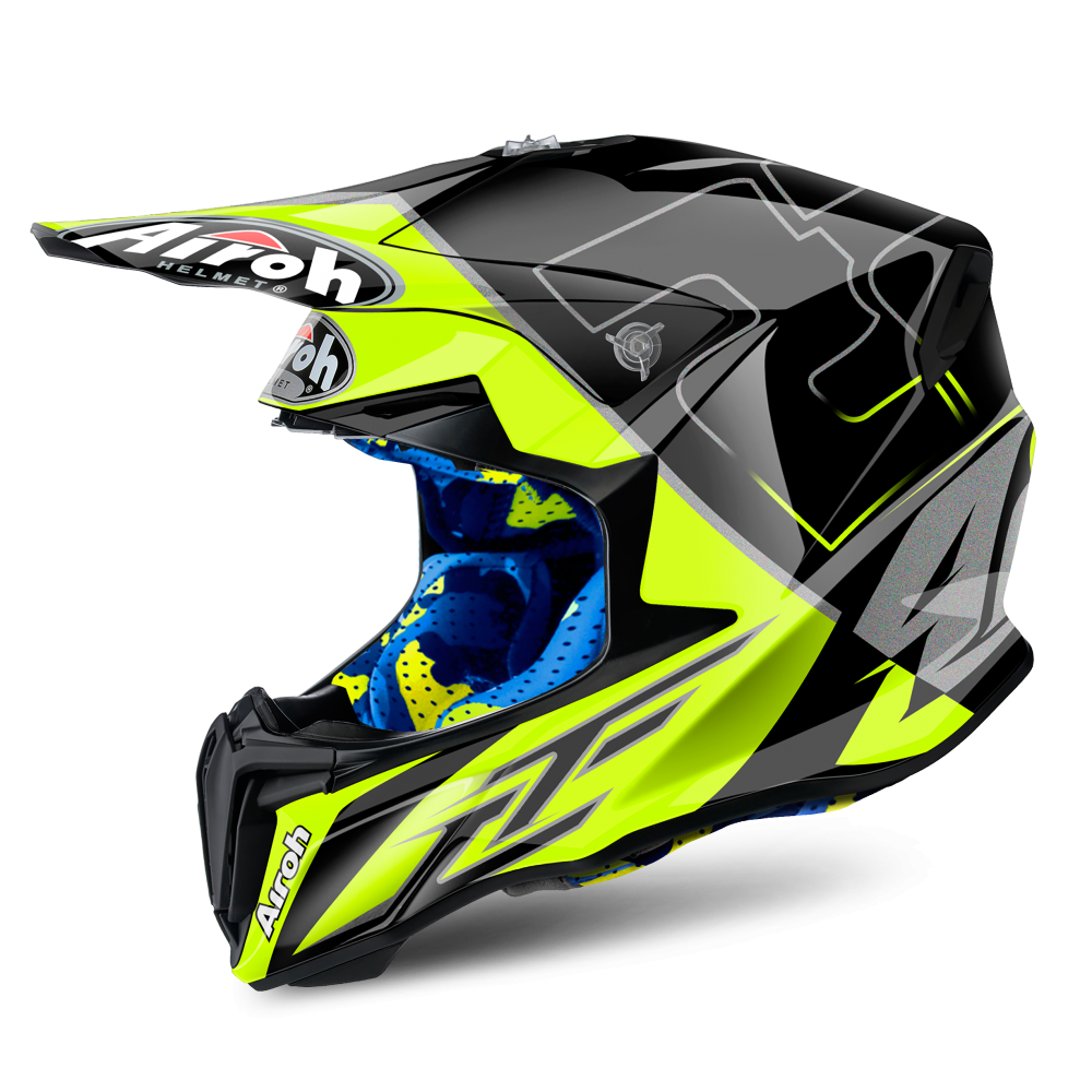 airoh twist motocross helmet cairoli mantova motorcycle helmets from custom lids uk. Black Bedroom Furniture Sets. Home Design Ideas