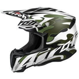 Airoh Twist Motocross helmet Mimetic Matt White