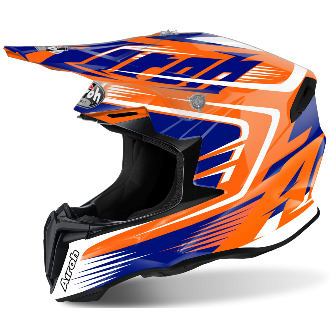 Airoh Twist Motocross helmet Mix Orange Gloss