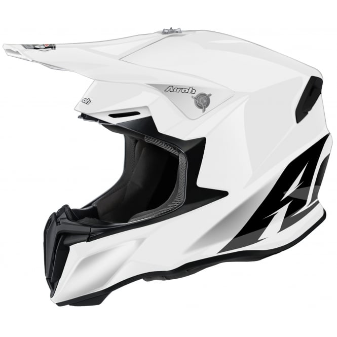 Airoh Twist Motocross helmet Plain White