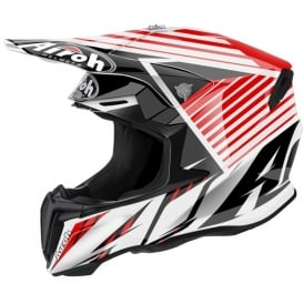 Airoh Twist Motocross helmet Strange Red