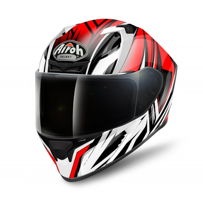 Airoh Valor Helmet Conquer red gloss