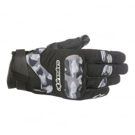 C-30 Drystar Gloves Black Camo