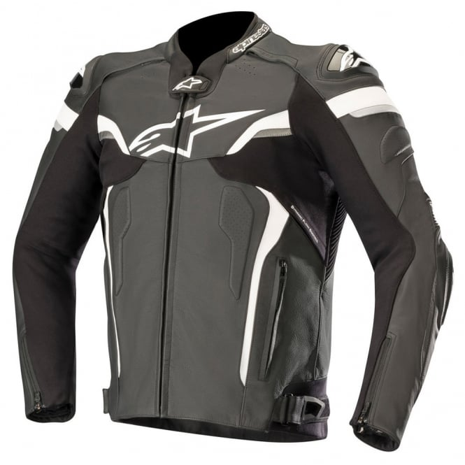 Alpinestars Celer v2 leather jacket Black / White