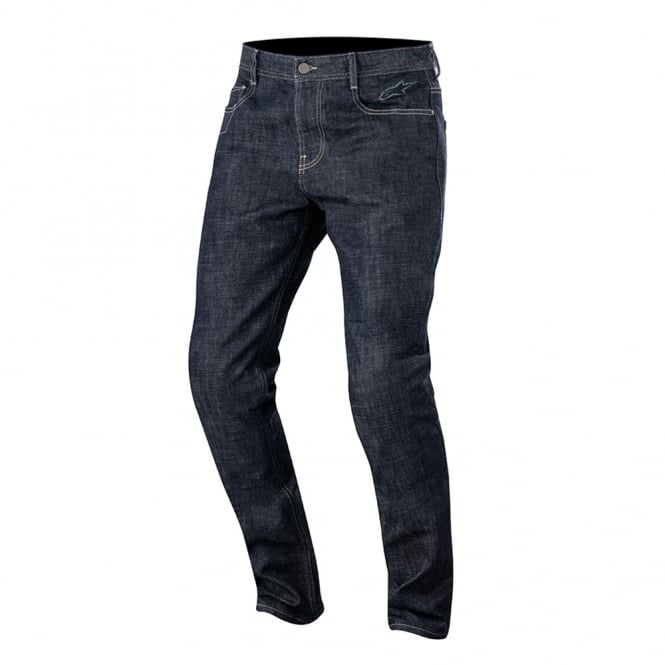 Alpinestars Duple Denim Pants With Kevlar Dark Rinse