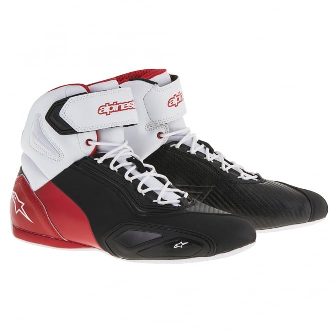 Alpinestars Faster 2 Boots Black/White/Red