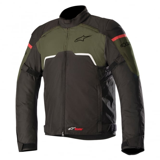 Alpinestars Hyper Drystar Jacket Black Military Green