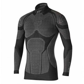 Ride Tech Top Long Sleeve Winter Black Gray