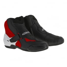 SMX 1 R Boots Black/White/Red