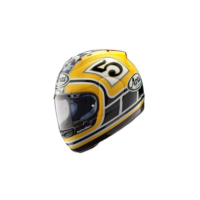 Arai Chaser X yellow Edwards replica