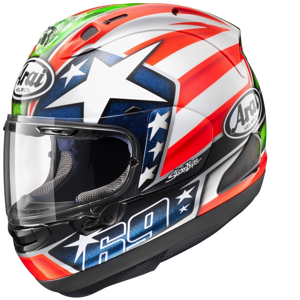 arai arai rx 7v hayden helmets from custom lids uk. Black Bedroom Furniture Sets. Home Design Ideas