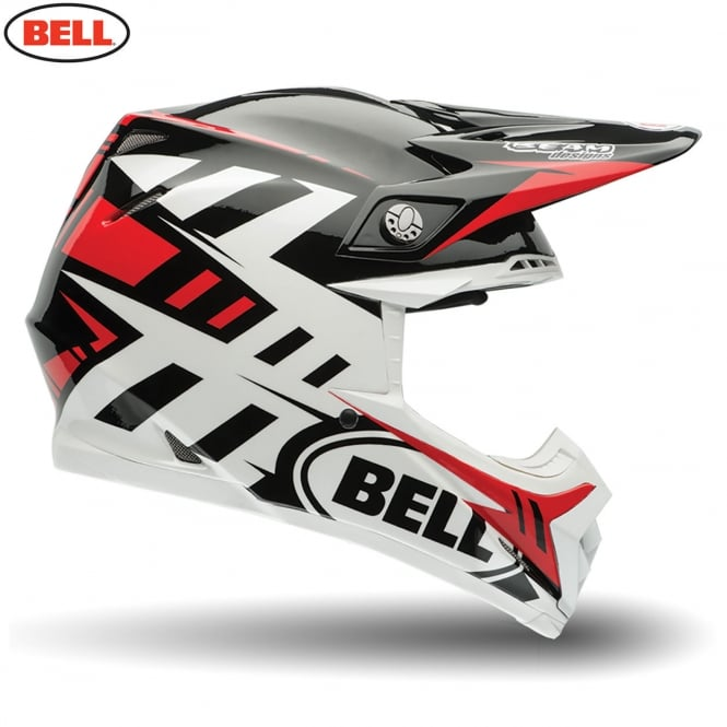 Bell Moto-9 Flex Syndrome Red