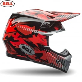 Bell Moto-9 Red Camo