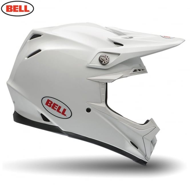 Bell Motorcycle Helmets Bell Moto-9 Solid White