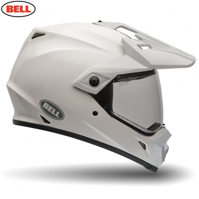 Bell Motorcycle Helmets Bell MX-9 Adventure Solid White