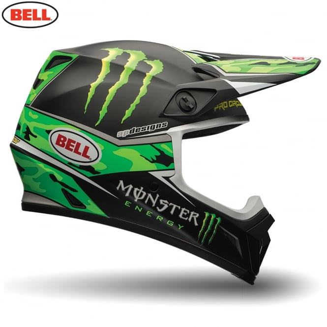 Bell MX-9 Pro Circuit Monster Camo