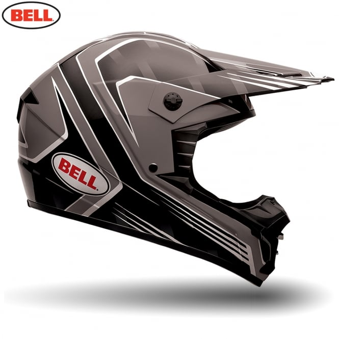 Bell Motorcycle Helmets Bell MX SX-1 Race Black