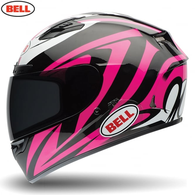 Bell Motorcycle Helmets Bell Qualifier DLX Impulse Pink