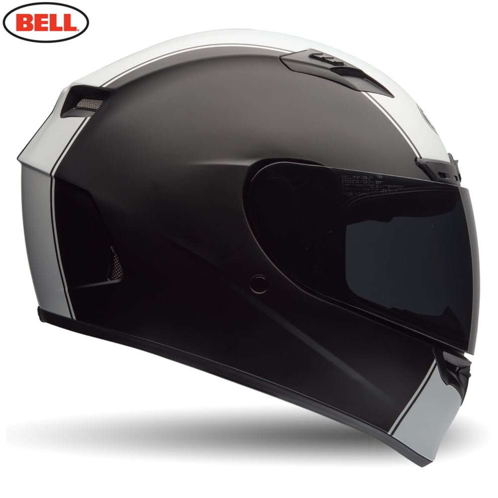Bell Motorcycle Helmet >> Bell Qualifier Dlx Rally Matt Black White