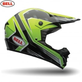 Bell MX SX-1 Race Green
