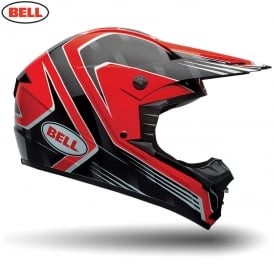 Bell MX SX-1 Race Red