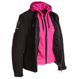 LADY JAAP JKT BLACK/PINK
