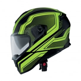 Caberg Drift Flux Matt Black/Yellow