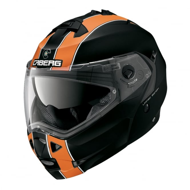 Caberg Duke Legend Matt Black/Orange