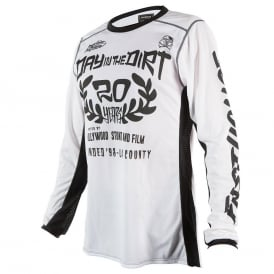 Fasthouse DITD 20 Years White Jersey
