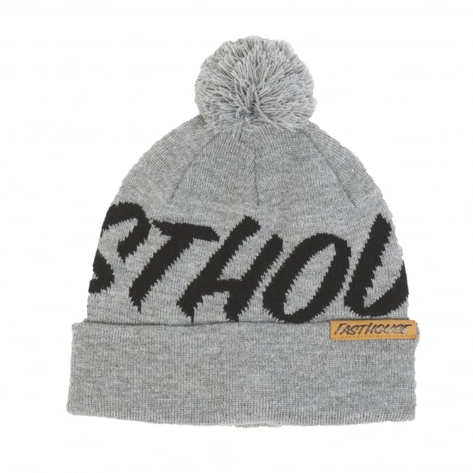 Fasthouse Fastball Beanie (Heather Grey) One Size