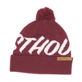 Fasthouse Fastball Beanie (Maroon) One Size