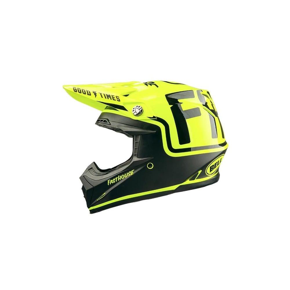 Fasthouse FH MC   Bell Moto 9 Helmet Flo Yellow - Motorcycle Helmets ... cae98889c