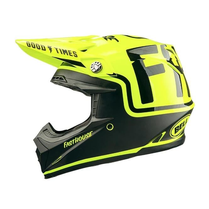Fasthouse FH MC / Bell Moto 9 Helmet Flo Yellow