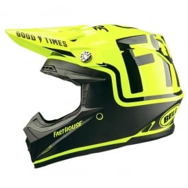 FH MC / Bell Moto 9 Helmet Flo Yellow